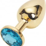 Golden Steel Bondage Fetish Plug Anal Butt Jewellery review
