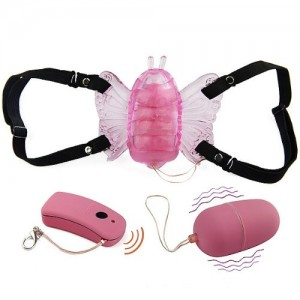 Sex Toy Remote Control Wireless Strap-on Butterfly Vaginal Clitoral Vibrator review